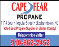 Cape Fear Propane Biz Card