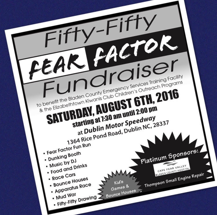 Fifty Fifty Fear Factor Fundraiser