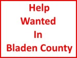 Help Wanted In Bladen County