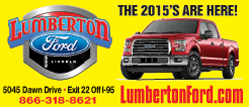 Lumberton Ford May ad for rotating