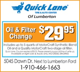 Revised Lumberton Ford Ad