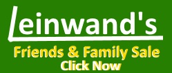 Leinwands Friends and Family small ad