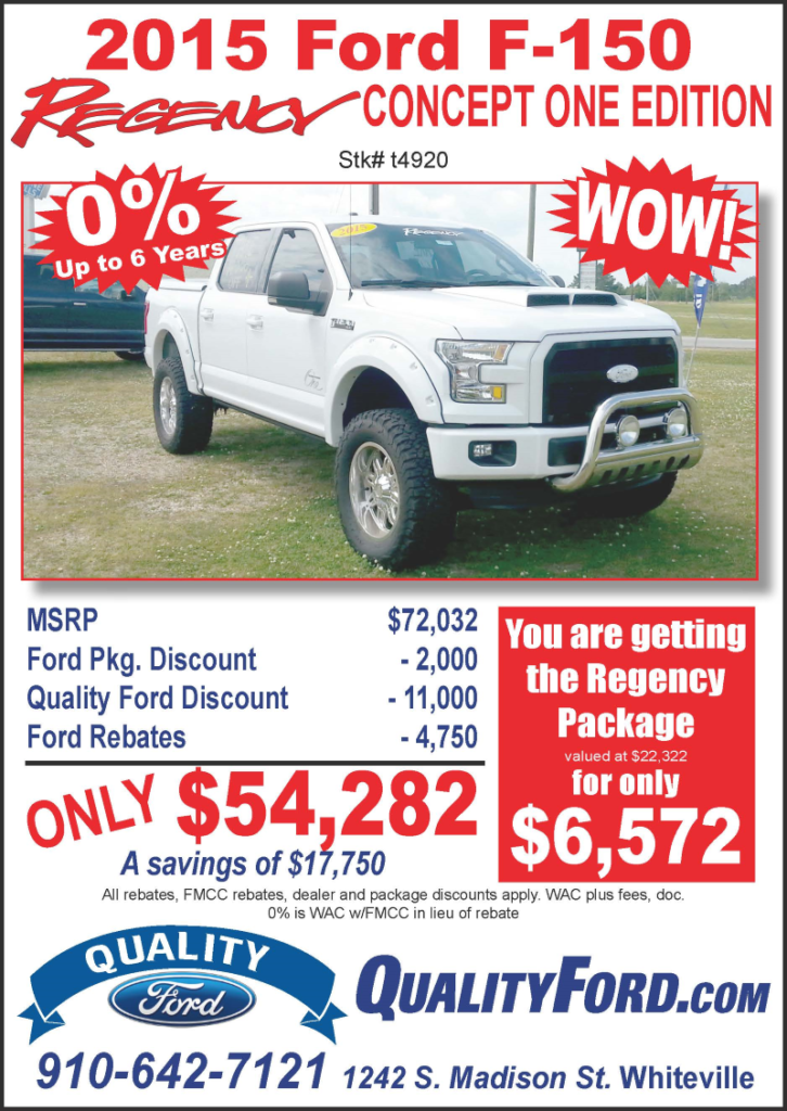 Quality Ford May 2016 ad
