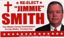 Jimmie Smith for Bladen County Commissioner