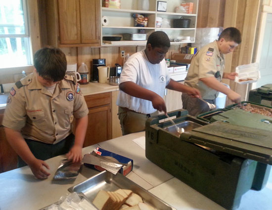 Dublin scouts raise money for roof, summer camp
