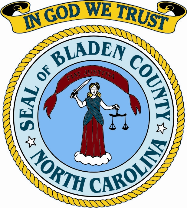 Bladen County Seal with In God We Trust 1
