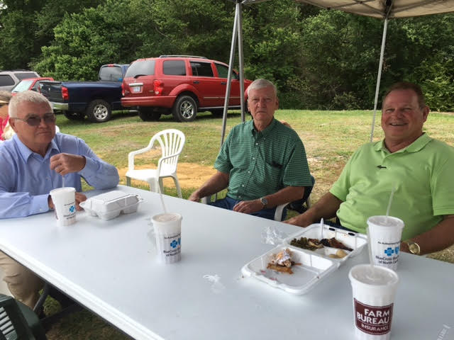 David Gooden for County Commissioner  at Spring Fest in Bladenboro