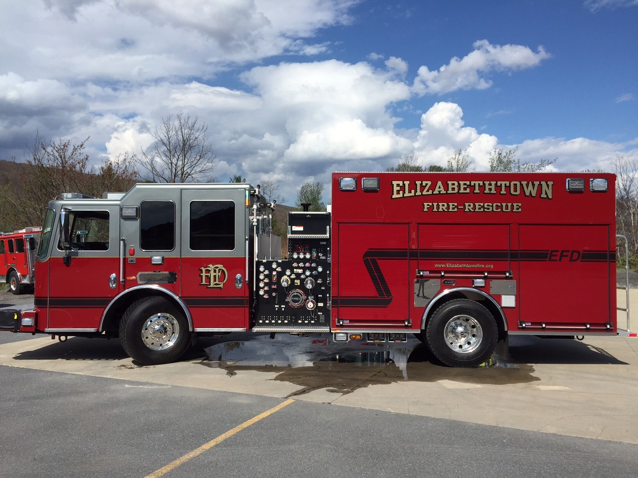 New fire engine undergoes final inspection