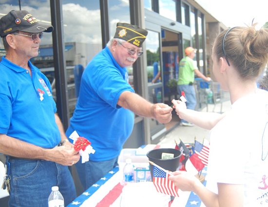 VFW honors fallen Veterans with Buddy Poppy event