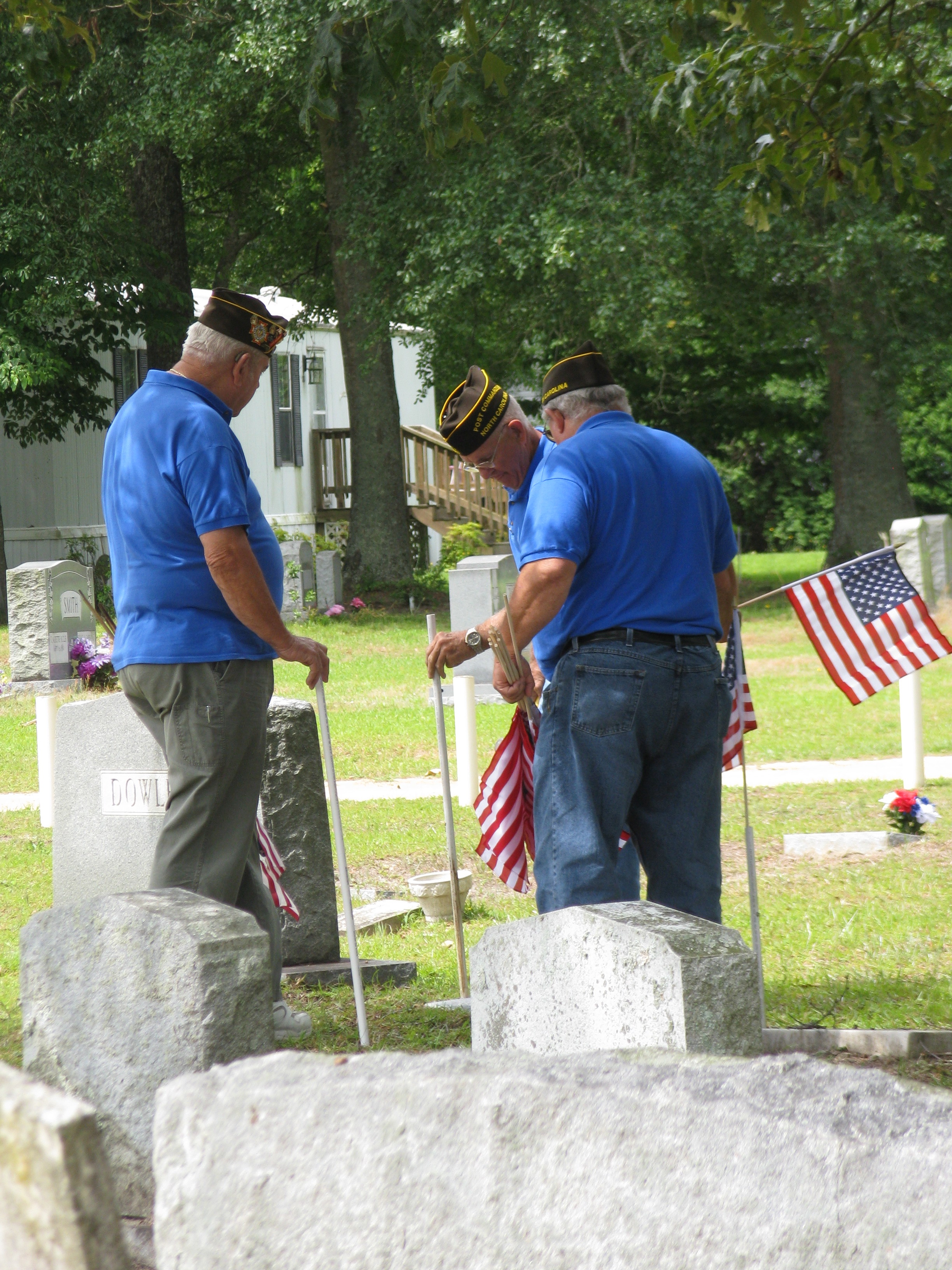 Cemetery Flags3