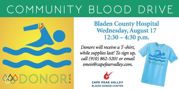 Cape Fear Valley Blood Drive