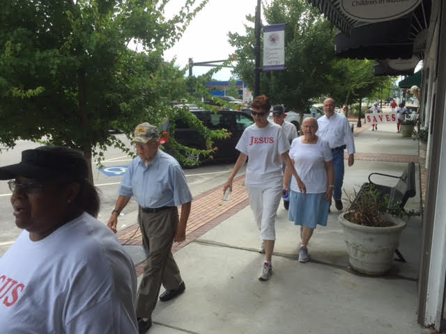 Peace promoted with Community Unity Walk in Elizabethtown 2