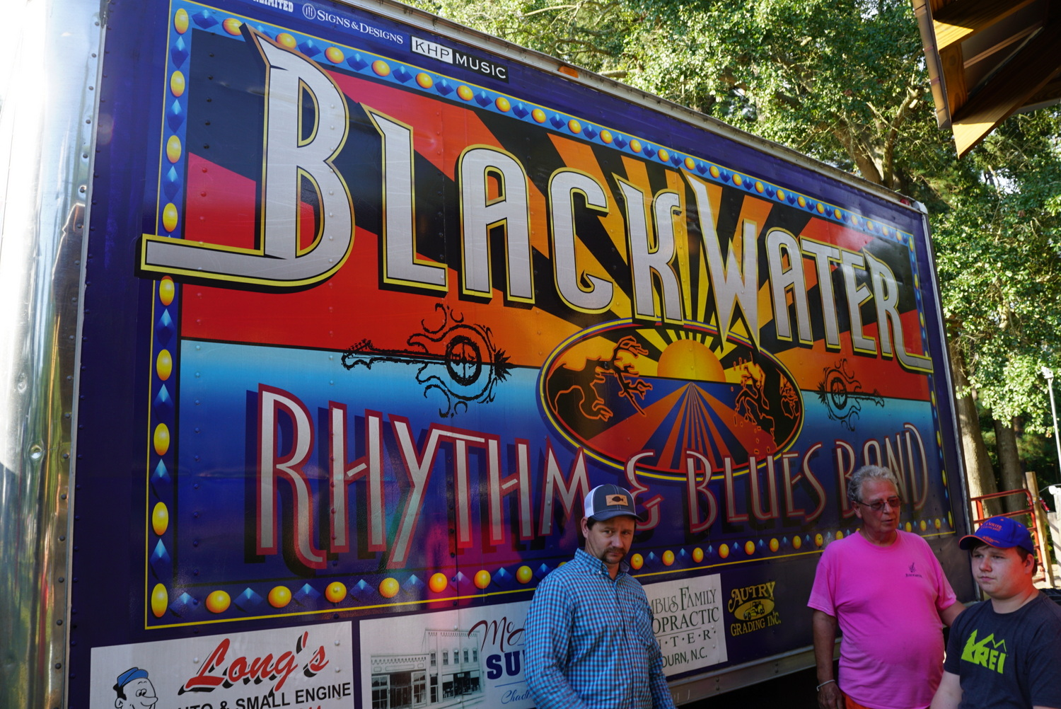 Black Water Rhythm & Blues band truck