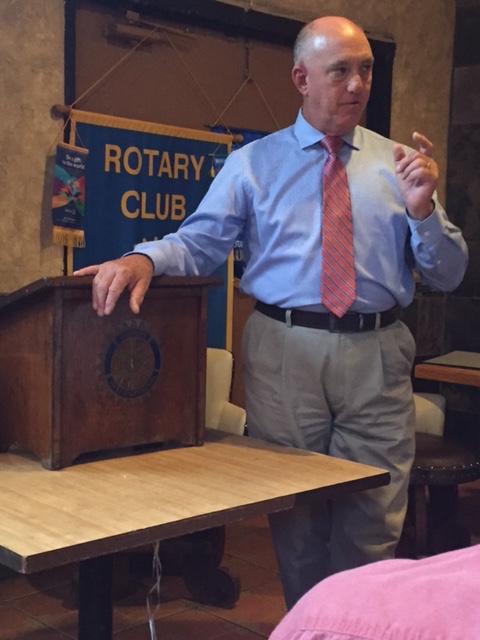 Rotary Club learns about law enforcement training