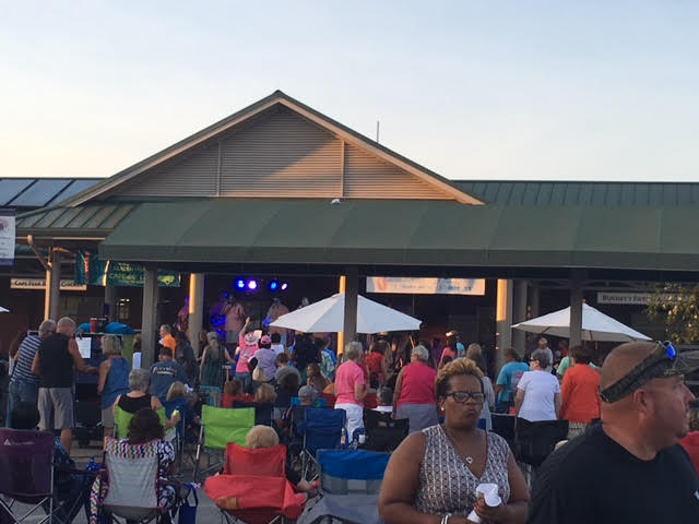 Summer Sounds Concert with Blackwater Rhythm & Blues band 4