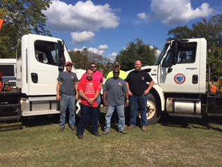 Neighbor helping neighbor:town helping town to recover after Hurricane Matthew