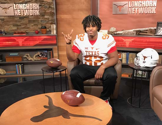 Larrell Murchison Offered Scholarship by Texas