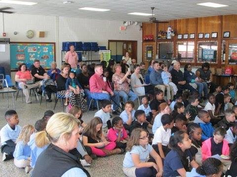 Elizabethtown Kiwanians held a Terrific Kids Awards Ceremony at Elizabethtown Primary 4