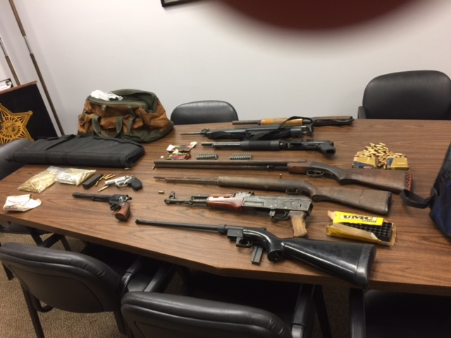 Joint Investigation Recovers Stolen Weapons