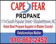 Cape Fear Propane Biz Card