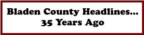 Bladen County Headlines... 35 Years Ago
