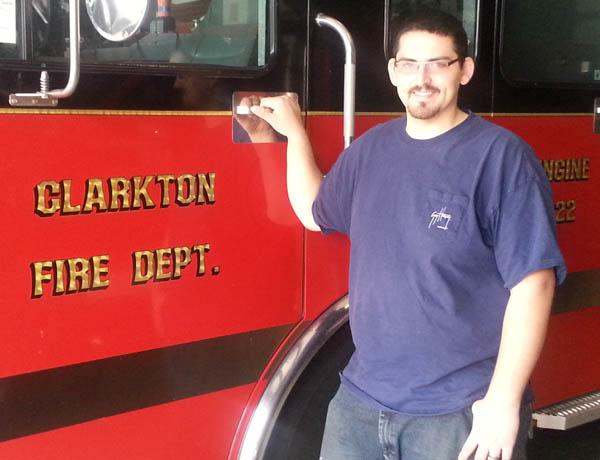 Clarkton Fire Dept. Lt. Brian Sult