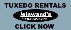 Leinwands small tuxedo rental ad