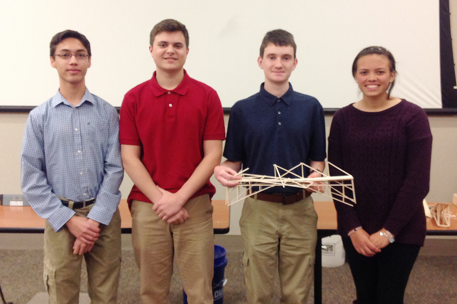 Bladen, Camden County Teams Advance to State NCDOT Bridge Building Competition
