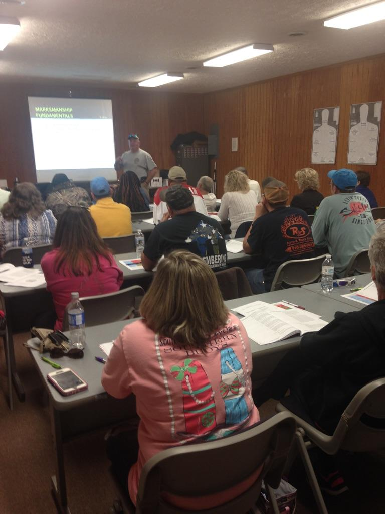 Sheirff Concealed Carry Class 4