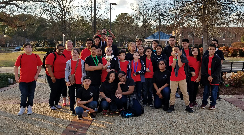 THM Science Olympiad team
